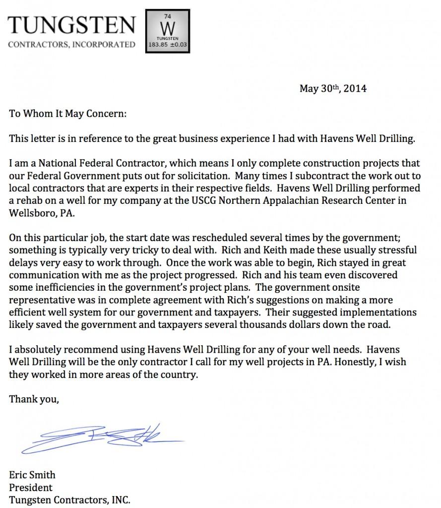 Letter of rec (Havens)