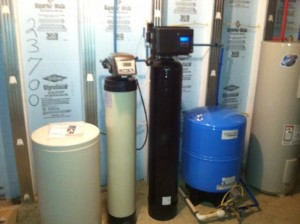 Complete water system install